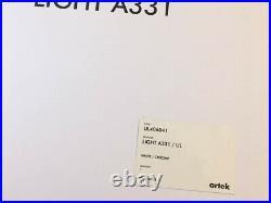 NEW in Box ARTEK Aalto A331 Beehive Pendant Light White/Chrome