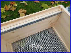 National Bee Hive Assembled 2 Super 1 Brood box with Stand Beekeeping Beehive