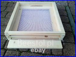 National Bee Hive Bee Keeping 2 Super 1 Brood Beekeeping Beehive hygenic bottom