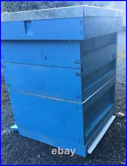 National Bee Hive Bee Keeping Cedar 2 Super 1 Brood Beekeeping English Timber