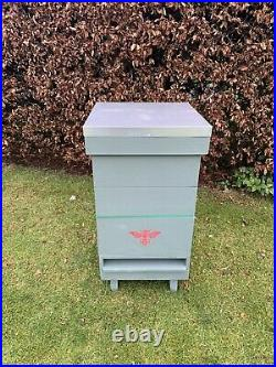 National Bee hive, unpainted. Please read des (new info) Beekeeping