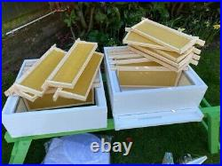 National Beehive, Assembled Complete Starter Kit, Pine, Unused