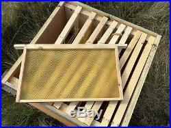 National Beehive With Gable Roof. Only About 3 Months Old. Includes Two Supers