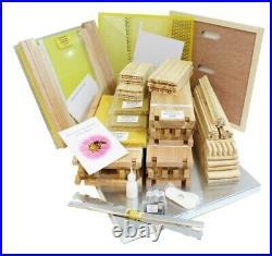 National Cedar Bee Hive Beehive, 14x12 DEEP, British Made, FLAT PACK, Free P&P