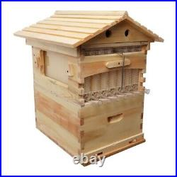 Newest Beekeeping Beehive House Brood Cedarwood Wooden Bee Hive Box For 7x Frame