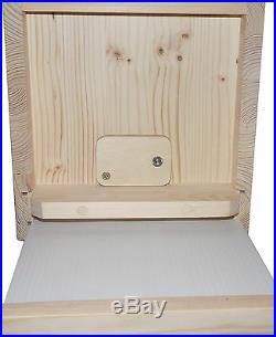 Observation Hive Ulster Hive Beekeeping Bee Nuc Portable Hive-Honey Bees