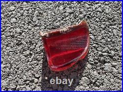 Oem Harley Beehive Tail Light Glass Lens Knucklehead Flathead Ul Wl Bee Hive