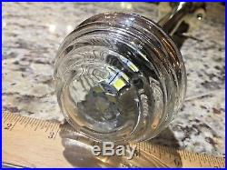 Old Wilcox Crittenden Beehive Stern Light, Chris Craft, Century. Led Wired 12