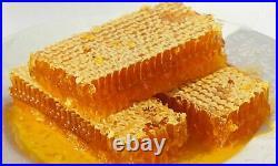 Organic, natural honeycomb honey, sexual performance bee hive 3100-3400gr
