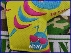 Rare Bettinardi Hive Bee Kool Tour Putter Headcover Golf blade Head cover NOB