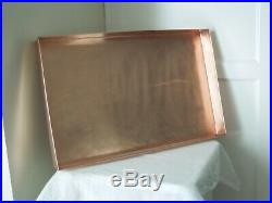 Rare EARLY Martha Stewart By Mail LARGE SIZE Copper Serving Tray BEEHIVE STAMP