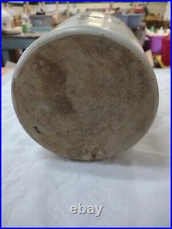 Rare Red Wing Stoneware Haarmann Vinegar & Pickles Omaha, NE Beehive Jug Shield