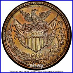 Really Nice Original R. S. Torrey Bangor MAINE Bee Hive CWT NGC MS64 Only Issuer