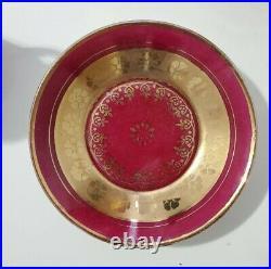 Royal Vienna Beehive Shield Mark Tea Pot With 4 Demitasse Cups Circa 1890
