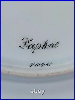 Royal Vienna Daphne Portrait Cabinet Plate, Wagner Painted, Beehive Mark, 19th C