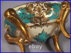 Royal Vienna Trinket Dresser Box Porcelain Beehive Antique Couple Love