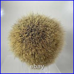 Rudy Vey Custom Beehive Shave Brush with28mm Shavemac D01 2 band knot (Pre-Owned)