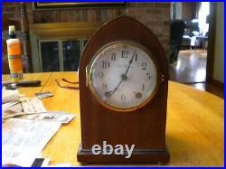 Seth Thomas Beehive Clock seth thomas 48j movement inlaid wood