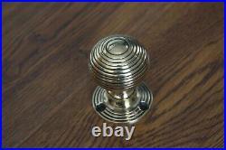 Solid Brass Door Knobs Set Of 7 Pairs Beehive Style