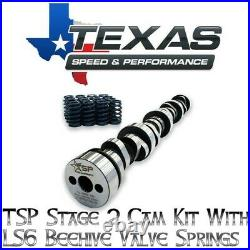 Texas Speed TSP Stage 2 Low Lift Truck Cam Kit With Ls6 Beehive Springs 5.3/6.0