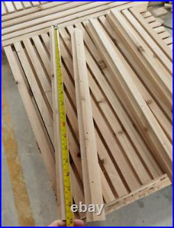 Top Bar Bee Hive New Available July subject to wood supply