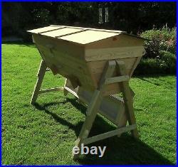 Top bar 32 Top Bars beehive, www. Thebeehivemaker. Co. Uk