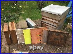 Used Bee Hive with Lots Of Extra Parts