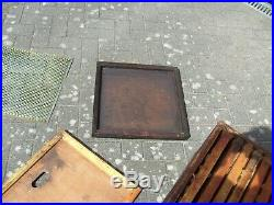 Used Commercial Bee Hive Complete with brood chamber & three supers