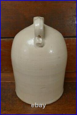 Vintage Antique Fort Dodge/Red Wing 5 Gallon Salt Glaze Beehive Style Jug Crock