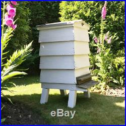 Vintage Garden White BeeHive Decorative Bee Hive WBC