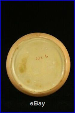 Vintage Large Roseville Pottery FUTURA 8 Art Deco Beehive Vase 406-8