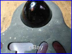 Vintage Red STOP Light Beehive Glass Lenses Truck Pickup Motorcycle Auto Rat Rod