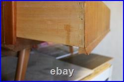 Vintage mid century Avalon Yatton Teak Chest Of Drawers Beehive Style Vgc
