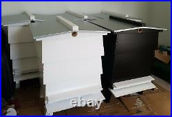WBC Bee Hives New Custom Painted Assembled Beehives Cedar Wood Complete