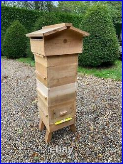 Warre Hive Beehive Thorne Unused With observation panel and book