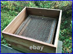 Wbc bee hive with two super and brood chamber comes with some frames