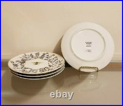 Williams Sonoma Honeycomb Dinner Plates & Bee Salad Plate Setting Set for 4 NEW