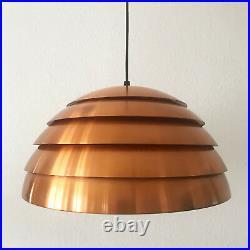 XL Mid Century Modern BEEHIVE Pendant Lamp by HANS-AGNE JAKOBSSON, 45 cm
